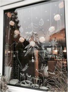 ventana navidad